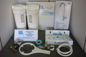Twin Under Sink Kit Components