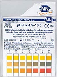 Testing accuracy of pH Test Strips